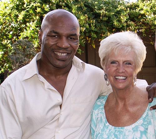 Mike Tyson and Marilyn Murray